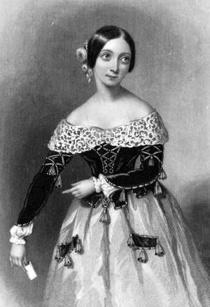Fanny Tacchinardi Persiani - As Rosina in The Barber of Seville, 1840