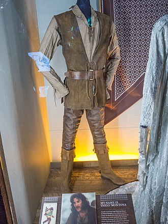 Inigo Montoya - Montoya's costume as presented in the EMP/Science Fiction Hall of Fame in Seattle.