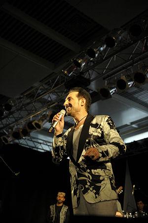 Farhad Darya - Farhad Darya at the 2010 Peace Concert in Kabul, Afghanistan.