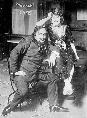 Julien (opera) - Enrico Caruso as Julien and Geraldine Farrar as Louise in the 1914 Metropolitan Opera production