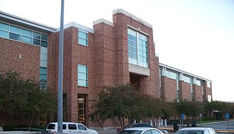 Southeastern Louisiana University - Fayard Hall, completed in 2001, makes practical use of brick, glass, light, and open space.