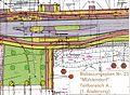 Fehlplanung für die Rekonstruktion der Ruhlsdorfer Straße, Als Beispiel der Abschnitt an der dabei links unten wegfallenden Einmündung der Kanada-Allee - panoramio.jpg