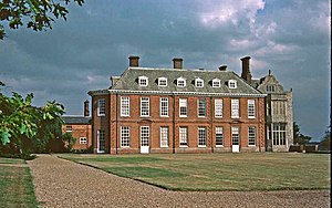 Felbrigg Hall - Felbrigg Hall, west wing, circa 1680