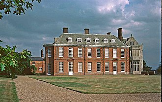 Felbrigg Hall - Felbrigg Hall, west wing, circa 1680