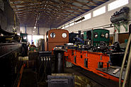 Feldbahn Werkstatthalle