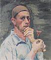 Felix Esterl - Selbstbildnis mit Nelke - 1928.jpeg