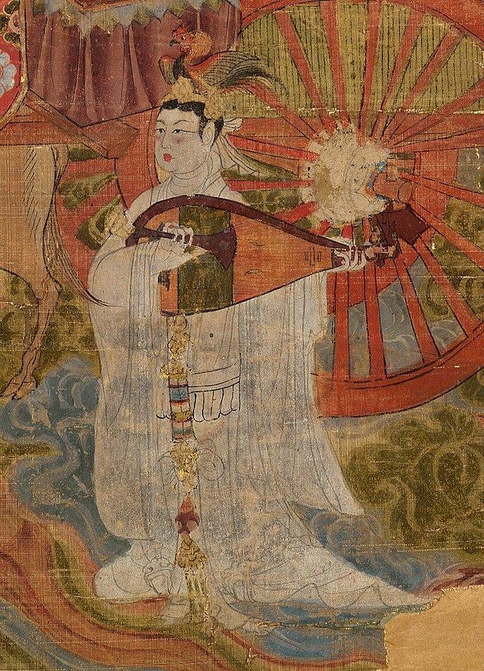 Female figure as Venus, T%27ang dynasty.jpg