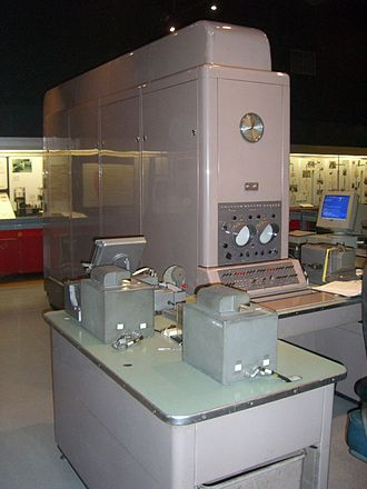 Ferranti - Ferranti Pegasus computer in The Science Museum, London