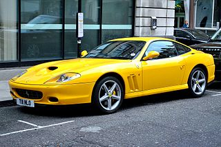 Grand Tourer, successor of the Ferrari 550, produced by Ferrari from 2002–2006