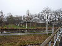 Fietsbrug naar Diemerbos.JPG