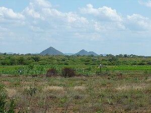 Filabusi - Farming area near Filabusi.