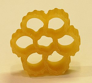 Fiori-shaped pasta by Barilla. Approximately 0...