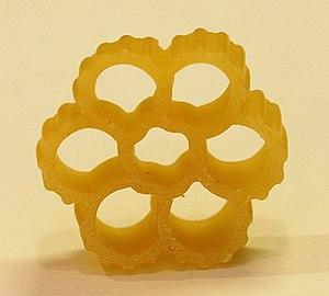 Fiori (pasta) - Image: Fiori pasta