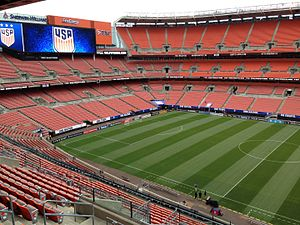 FirstEnergy Stadium - Lined for soccer in 2016