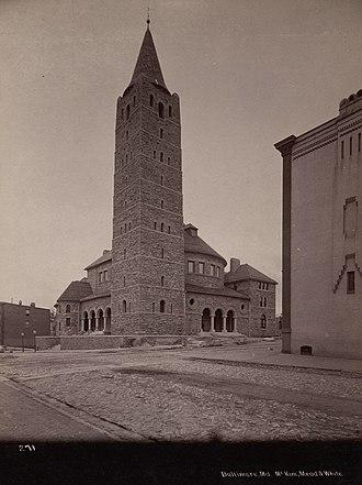 Lovely Lane Methodist Church - First Methodist Episcopal Church (Lovely Lane United Methodist Church), 1895.