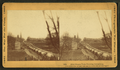 First wagon train entering Petersburg, by Taylor & Huntington.png