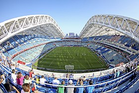 Resultado de imagen para Estadio Olimpico Fisht Sochi Rusia