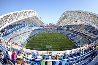 2017 FIFA Confederations Cup - Image: Fisht Olympic Stadium 2017