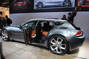 Fisker Automotive - The Fisker Surf was unveiled at the 2011 Frankfurt Motor Show