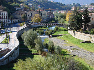 Cosenza - The River Crathis in Cosenza