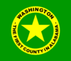 پرچم Washington County, Alabama