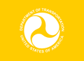 Flag of a United States Assistant Secretary of Transportation.png