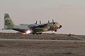 Flickr - Israel Defense Forces - IAF Jet Blasts Off into the Dusk.jpg