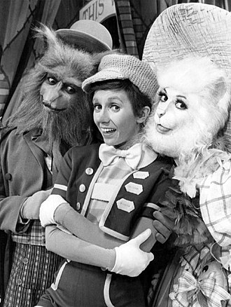 Sandy Duncan - Duncan as Pinocchio with Flip Wilson as Fox and Liz Torres as Cat (TV musical, 1976)