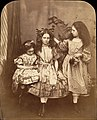 Flora Rankin, Irene MacDonald, and Mary Josephine MacDonald at Elm Lodge MET DP150941.jpg