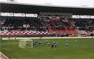 Pietà Hotspurs F.C. - Pietà Hotspurs playing against Floriana during the 1999–2000 Maltese Premier League.