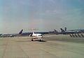 Fokker 100 (unidentified) Air Europe, London - Gatwick - UK, August 1990. (5499512047).jpg