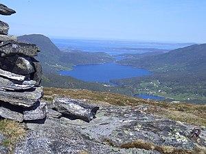 Aure, Norway - View of the Foldfjord