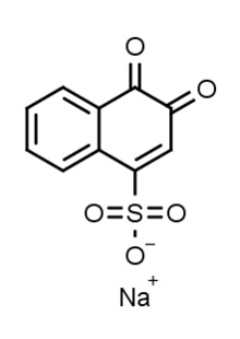 Skeletal formula of Folin's reagent