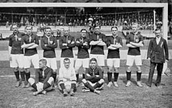 Football at the 1912 Summer Olympics - Hungary squad.JPG