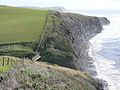 Footbridge on Dorset Coast Path above Kimmeridge Ledges - geograph.org.uk - 345127.jpg