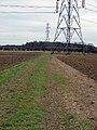Footpath across field. - geograph.org.uk - 118546.jpg
