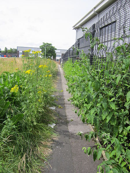 File:Footpath between Campbeltown Road and New Chester Road, Birkenhead.JPG