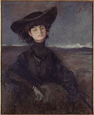 Anna de Noailles - Image: Forain Anna de Noailles