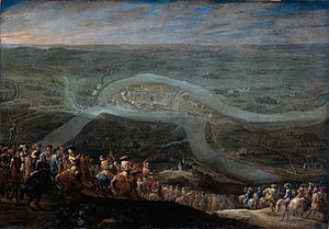 Franco-Dutch War - Forces of Louis XIV before Schenkenschanz, 1672