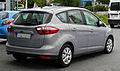 Ford C-Max 1.6 TDCi Trend (II) – Heckansicht (2), 30. Juli 2011, Mettmann.jpg