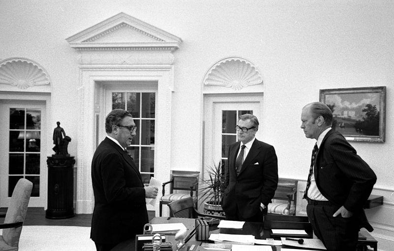 Ford Kissinger Rockefeller Genocide Pac