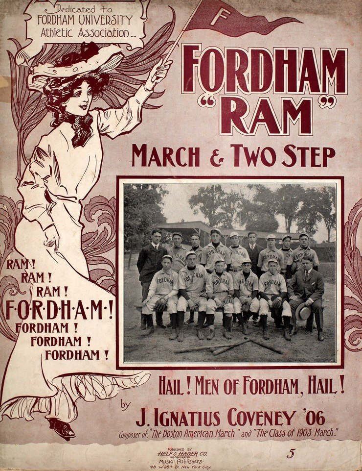 """Fordham """"Ram"""" March and Two Step"""