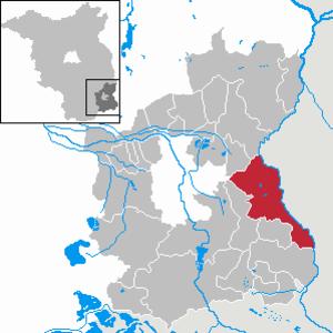 Forst (Lausitz) - Image: Forst (Lausitz) in SPN