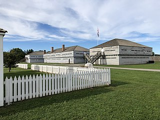 UK (1802-1870) and Canadian (1870-1891) fort