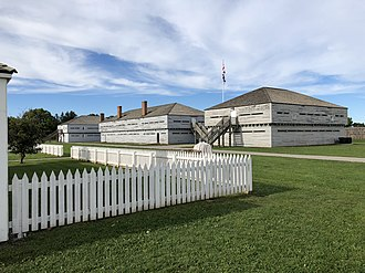 Fort George, Ontario - View from inside Fort George