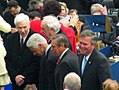 Four former governors joining Governor Charlie Crist on his inaugural day - Tallahassee, Florida.jpg
