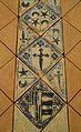 Fragment de paviment de l'església del monestir de Llutxent (detall), Museu de Ceràmica de València.JPG
