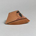 Fragment of a terracotta kylix- lip-cup (drinking cup) MET DP21791.jpg