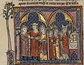 Français 2824, fol. 152v, Mariage d'Onfroi IV de Toron et Isabelle de Jérusalem.jpeg
