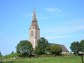 The church of Sainte-Trinité